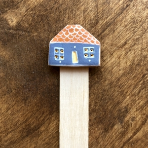 Semn de carte Little Houses model 91
