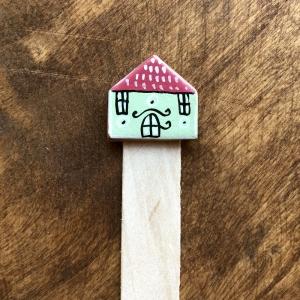Semn de carte Little Houses model 100