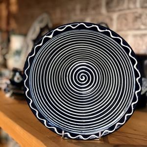 Bowl Ø 19 cm Deep Blue pattern 4