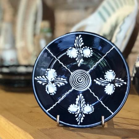 Farfurie albastră Ø 14 cm model 3