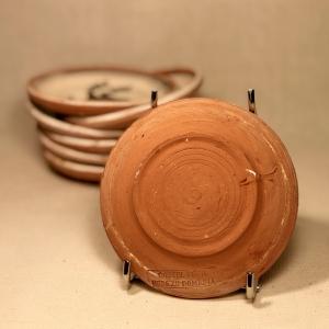 Farfurie Ø 10 cm Cocoș1
