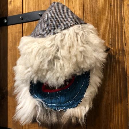 Mască decorativă tradițională model 2