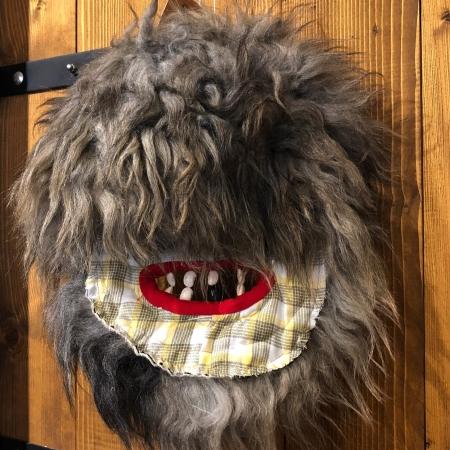 Mască decorativă tradițională model 33