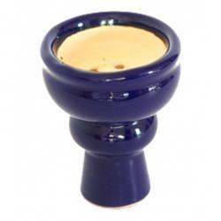 Creuzet (vatra ceramica) narghilea, 5 cm, albastru navy