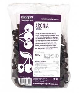 Fructe de aronia bio uscate Dragon Superfoods
