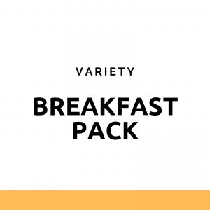Breakfast Pack - pachet variat cu 5 gustari pentru mic dejun