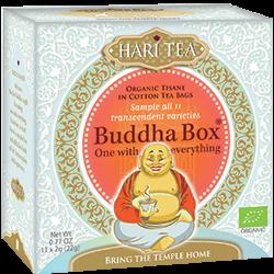 Ceai premium bio - Budha Box - selectie 11 ceaiuri Hari Tea