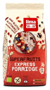 Porridge Express cu superfructe fara gluten bio Lima