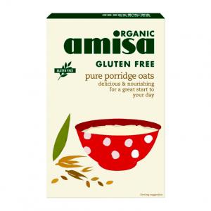 Porridge din ovaz bio fara gluten Amisa 325g