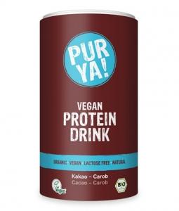 Proteina Pudra Cacao Carob Vegan Bio PURYA