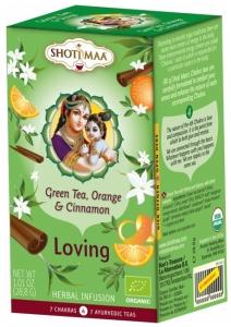 Ceai Bio Shotimaa Chakras Loving - ghimbir, portocala si scortisoara