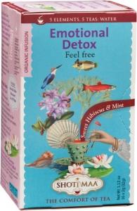 Ceai Bio Shotimaa Emotional Detox Feel Free