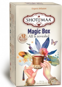 Ceai Shotimaa Magic Box selectie 12 ceaiuri bio
