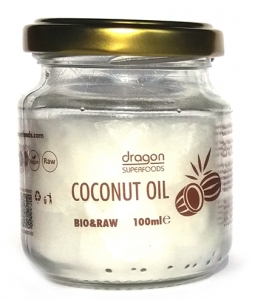 Ulei de cocos BIO extravirgin Dragon Superfoods, presat la rece 100ml