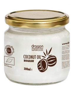 Ulei de cocos virgin BIO Dragon Superfoods