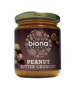 Unt de arahide Biona Crunchy