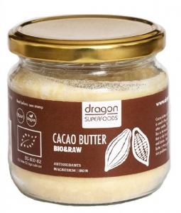 Unt de cacao raw bio Dragon Superfoods