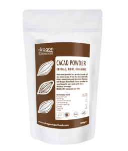 Cacao pudra raw BIO 250g - Dragos Superfoods