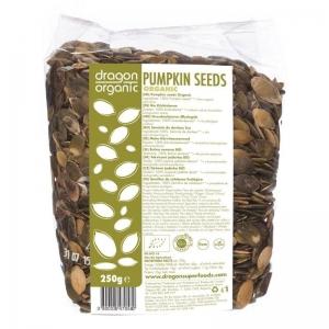 Seminte de dovleac crud bio Dragon Superfoods