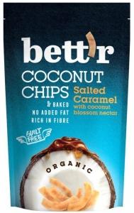 Chips de cocos cu sare de mare bio 70g Bettr