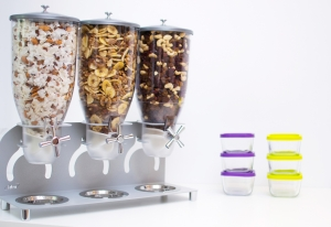 Dispenser cereale, nuci, fructe uscate IDM KELL 300