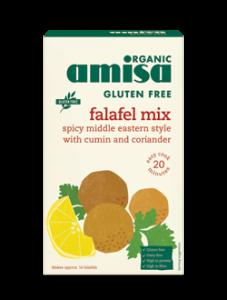 Mix pentru falafel fara gluten bio Amisa