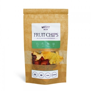 Chips de fructe deshidratate NativeBox