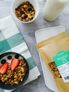 Granola Caju si Fulgi de Cacao NativeBox 450g