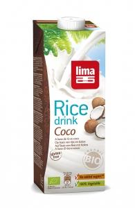 Lapte de orez cu cocos bio 1L