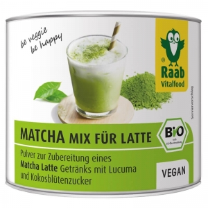 Matcha mix Latte bio RAAB