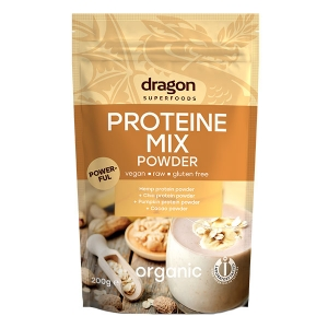 Mix proteine din plante raw BIO 200g - Dragon Superfoods