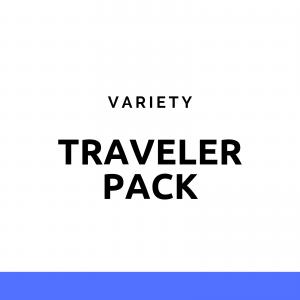 Traveler Pack - pachet cu gustări pentru călătorii NativeBox