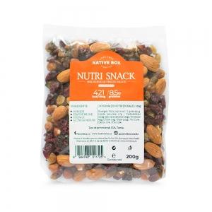 Nutri Snack: Mix de merisor, migdale, stafide, alune
