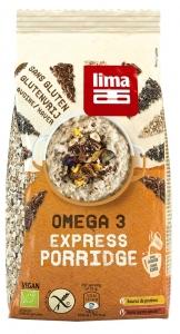 Porridge Express cu Omega 3 fara gluten bio Lima