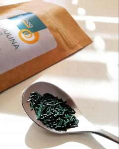 Spirulina Crunchies Franta Spinoa Superaliment 50g