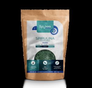 Spirulina Crunchies Burkina Faso Spinoa Superaliment 50g