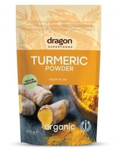 Turmeric (curcuma) pudra bio 150g - Dragon Superfoods