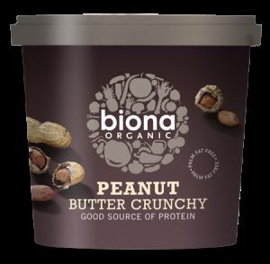 BIO Unt de arahide Biona Crunchy 1 kg - Livrare rapida