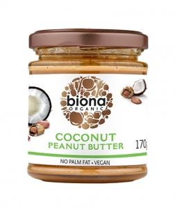 Unt de arahide cu cocos Biona | NativeBox