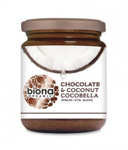 Crema Bio de cocos cu ciocolata CocoBella Biona - NativeBox.ro