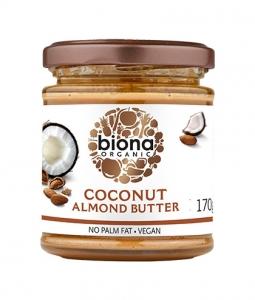 Unt de migdale cu cocos Biona 170g