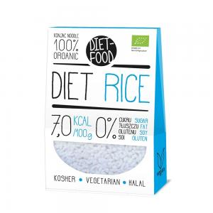 DIET FOOD SHIRATAKI KONJAC OREZ 200 GR