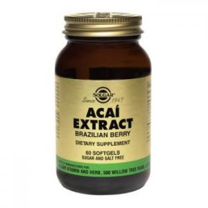 SOLGAR ACAI EXTRACT SOFTGELS 60 CPS