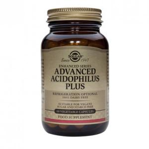 SOLGAR ADVANCED ACIDOPHILOUS PLUS 60 CPS