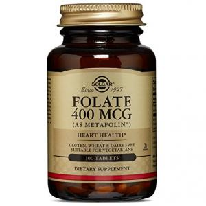 SOLGAR FOLATE AS METAFOLIN 400 MCG 50 TB