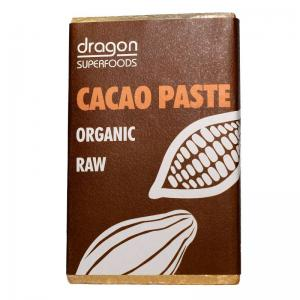 DRAGON SUPERFOODS PASTA DE CACAO ORGANIC RAW 200 GR