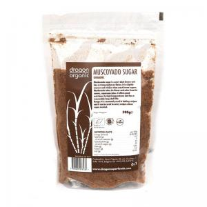 DRAGON SUPERFOODS ZAHAR BRUN MUSCOVADO ECO 300 GR