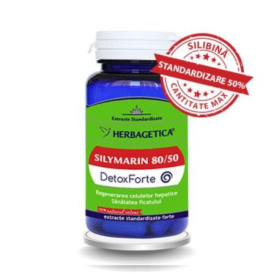 HERBAGETICA SILYMARIN 80/50 FORTE 60 CPS