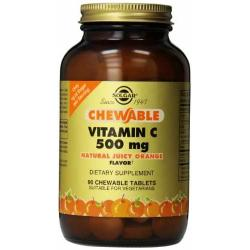 SOLGAR VITAMINA C 500MG ORANGE MASTICABILE 90 TB