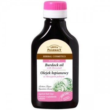 GREEN PHARMACY ULEI DE BRUSTURE CU EXTRACT DE COADA CALULUI 100 ML